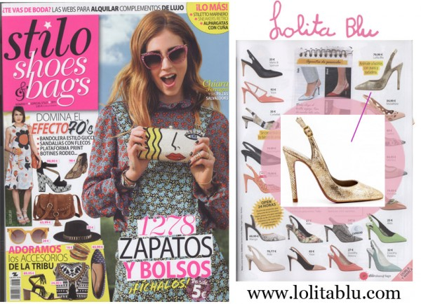 Stilos Shoes and Bags recomienda Lolita Blu